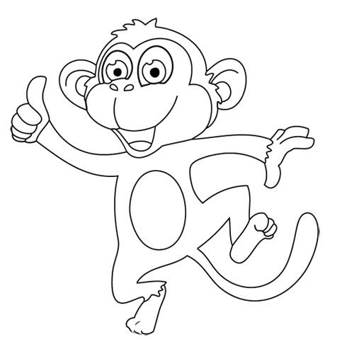 Cinghiale disegno da colorare good download by with - Scimmia faccia da colorare pagine da colorare ...