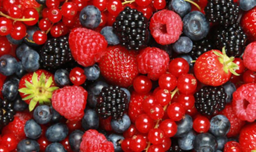 I benefici dei frutti rossi